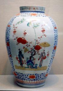 Large vase of Kakiemon Style