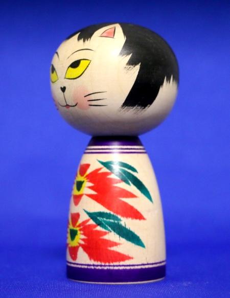 Cat kokeshi6