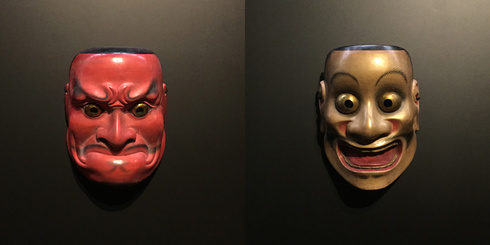 """Japanese traditional performing arts """"Kyogen, Nou, Kabuki"""""""