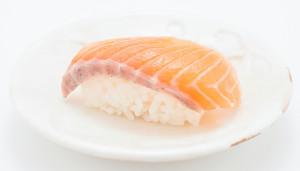 江戸前寿司のネタ サーモン文中
