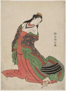 女三宮(鈴木春信筆)