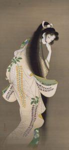 「焔」上村松園筆