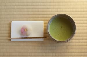 茶道 お菓子と抹茶