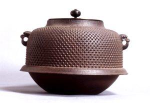 山形鋳物 茶釜