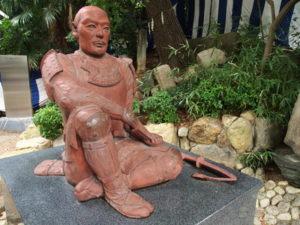 真田幸村の像 (安居神社、大阪府大阪市)