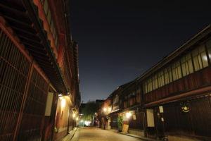ひがし茶屋 夜景