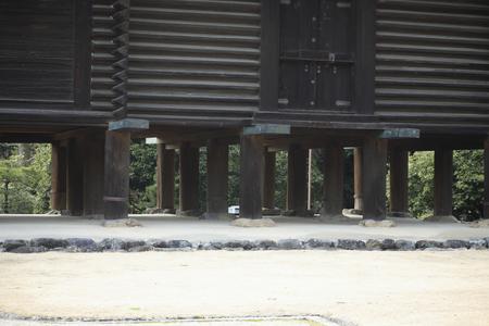 正倉院の校倉造