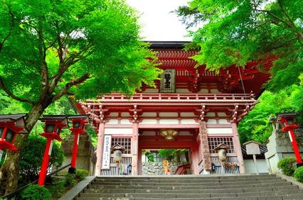 鞍馬寺 仁王門(京都)