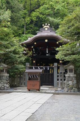 白旗神社(神奈川県藤沢市)